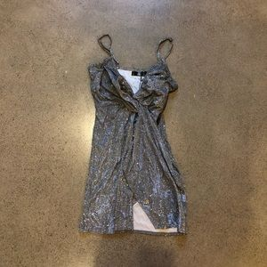 MISSGUIDED sparkly dress